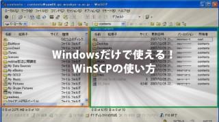 winscp使い方