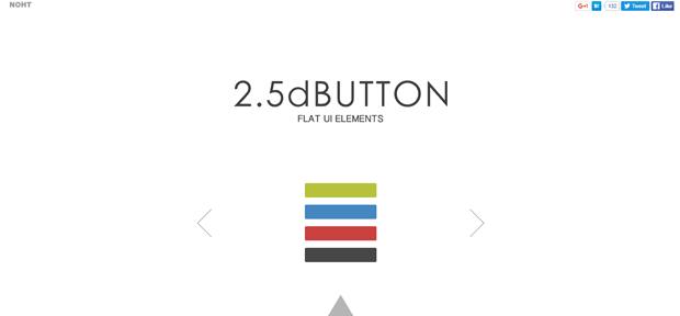 2.5dButton-Flat-UI-Elements