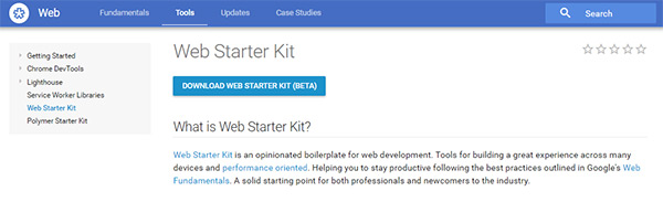 10-google-web-starter-kit